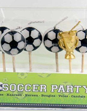 6-Mini-Kerzen-+-FUSSBAELLE-+-POKAL-+-auf-Holzhalter-fuer-Party-und-Geburtstag-,-Kerzen-Kuchen-Torte-Deko-Candle-Soccer-Fussballspieler-Fussball-EM-WM-von-Unbekannt-94382331