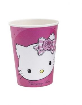 charmmy-kitty-paper-party-cups-250-ml-amscan-rm551727-pack-of-8-pieces