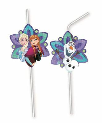6pk-Disney-Frozen-Snowflakes-Medallion-Drinking-Straws-Birthday