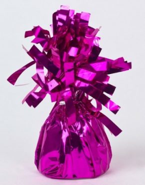 balloon-weight-pudding-magenta-foil-pk1