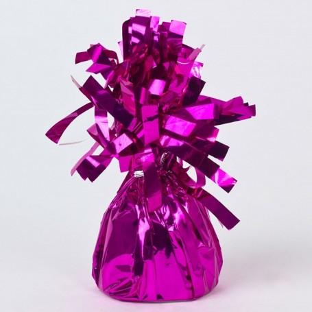 balloon-weight-pudding-magenta-foil-pk1